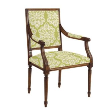 ballard designs louis chair ikat medallion