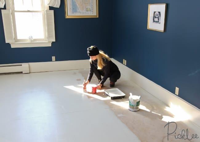 DIY Painted Plywood Subfloor  Picklee