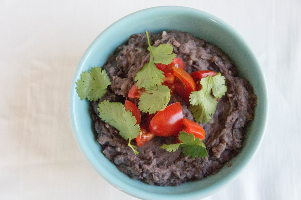 Refried Black Beans-11