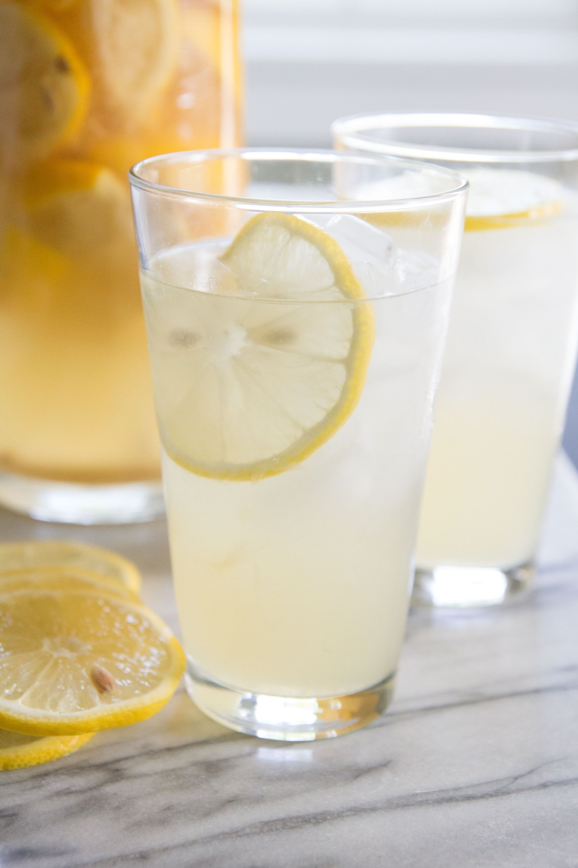 The Best Homemade Lemonade! Read more on the PJS blog. Let go of the packets, the powders and the syrupy concentrates and taste how good REAL lemons can be.