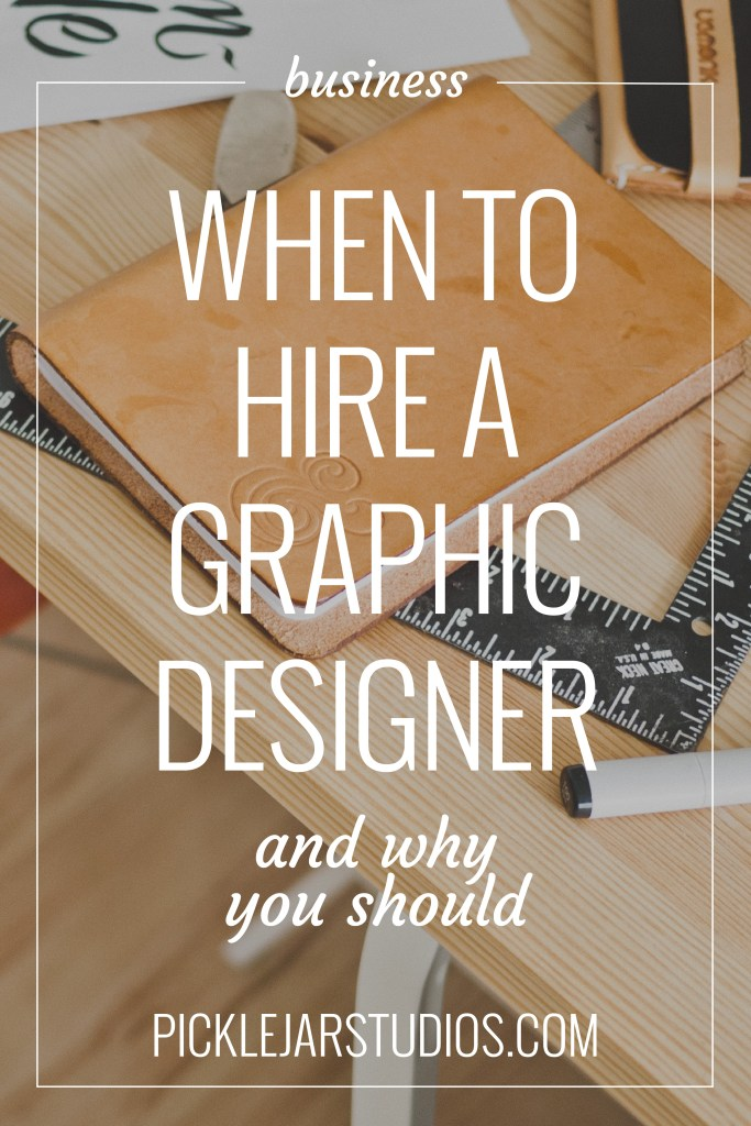 when to hire out for a graphic designer