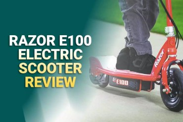Razor E100 Electric Scooter Review: In-Depth Analysis