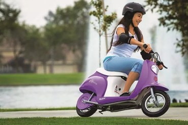 The Razor Pocket Mod Electric Scooter Reviews 2019 (Girl Ride)