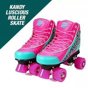 Kandy-Luscious Vibrant Kid's Roller Skates