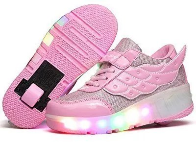 Nsasy-Roller-Shoes-Girls-Roller-Skate-Shoes-Boys-Kids-LED-Light