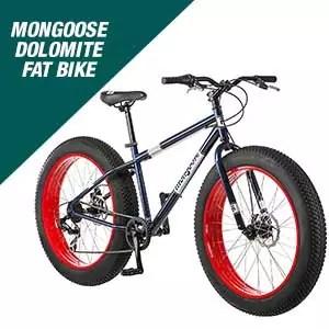 Mongoose Dolomite Mens Fat Tire Mountain Bike