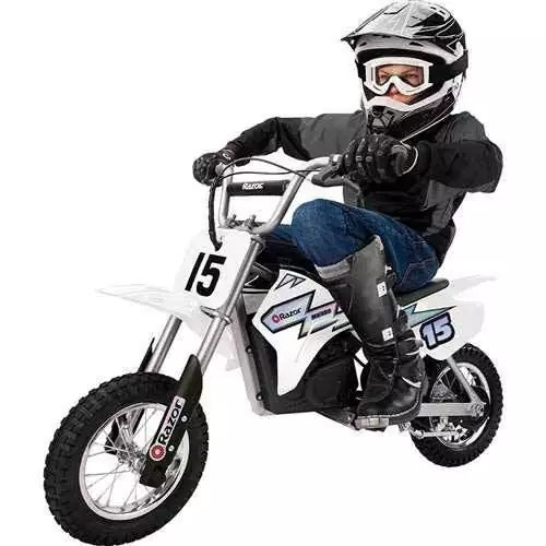 Razor MX400 24V Electric Dirt Rocket Toy Motocross Motorcycle Bike