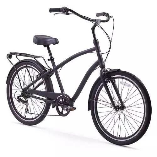 Sixthreezero EVRYjourney Men's Hybrid Cruiser Bicycle, 26″ Wheels/ 19″ Frame