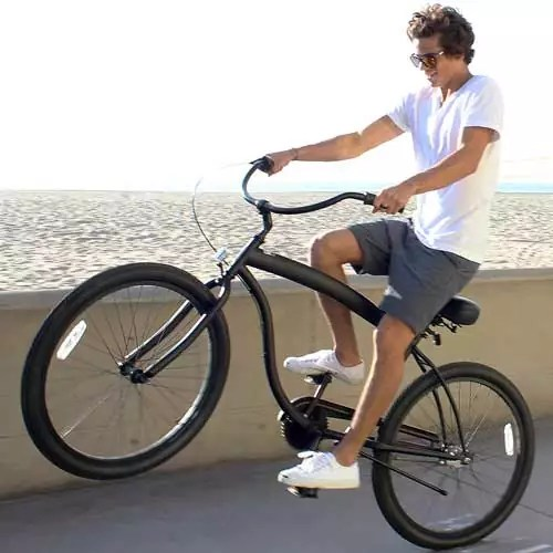 Sixthreezero Men's in The Barrel Beach Cruiser Bicycle, 26″ Wheels/ 18″ Extended Frame