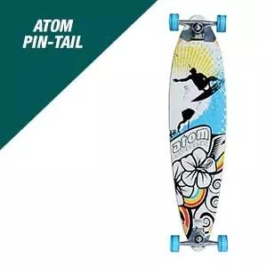 Atom Pin-Tail Longboard