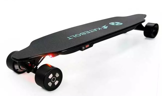SKATEBOLT Electric Cruiser Longboard Skateboard with Remote Controller