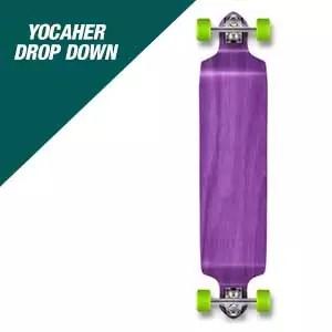 Yocaher Complete Drop Down Skateboards Longboard