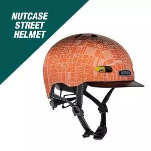 Nutcase - Patterned Street Bike Helmet for Adults