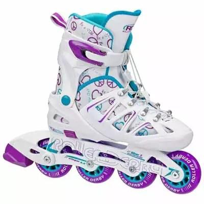 Roller Derby Stinger 5.2 Girls Adjustable Inline Skate