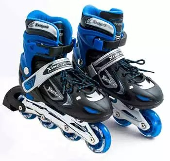 XinoSports Kids Inline Roller Skates with Lit Up Illuminating Wheels