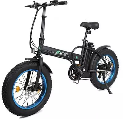 Ecotric New Fat Tire Folding Electric Bike