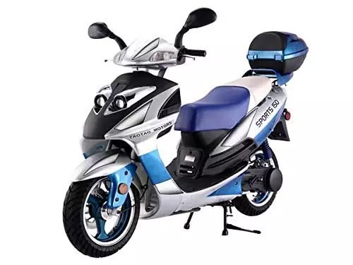 Tao Smart Dealsnow 150cc Gas Fully Automatic Street Legal Scooter