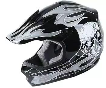 TCMT Dot Youth & Kids Motocross Offroad Street Helmet