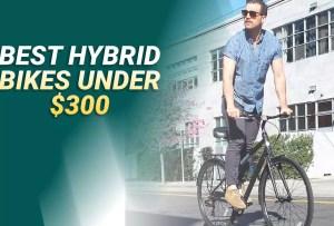 Best Hybrid Bikes Under $300 In 2021 – Reviews & Buyer's Guide