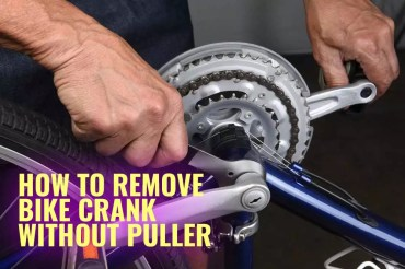 How to Remove Bike Crank without Puller