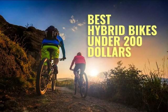 best hybrid bicycle under 200