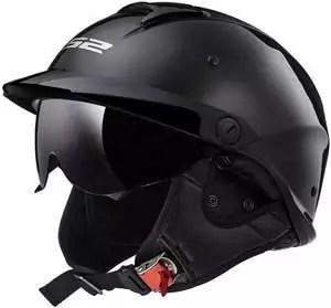 LS2 Helmets Rebellion Motorcycle Half Helmet