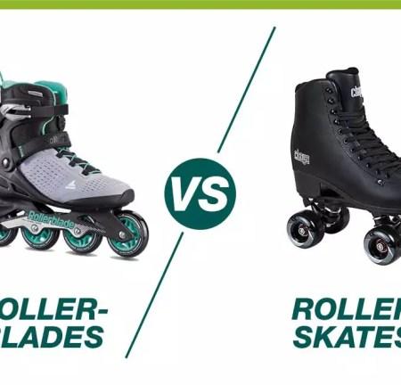 Rollerblades VS Roller Skates: Comparison In 2021
