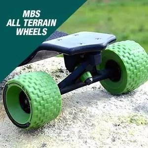 MBS All-Terrain Longboard Wheels