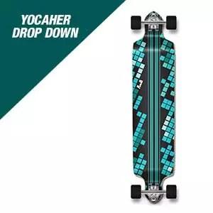 Yocaher Drop Down Longboard