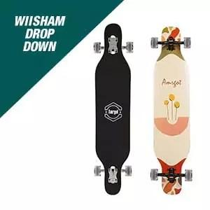 Wiisham Drop Down Longboard