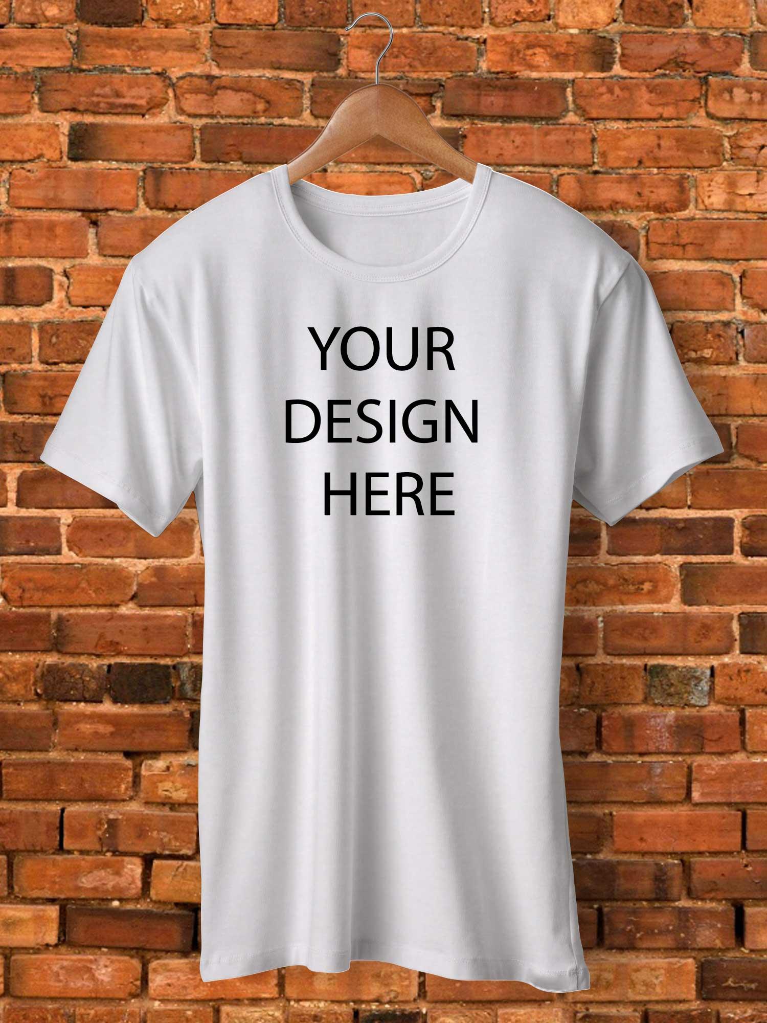Buy Custom T Shirt with your design - Pickshop.pk