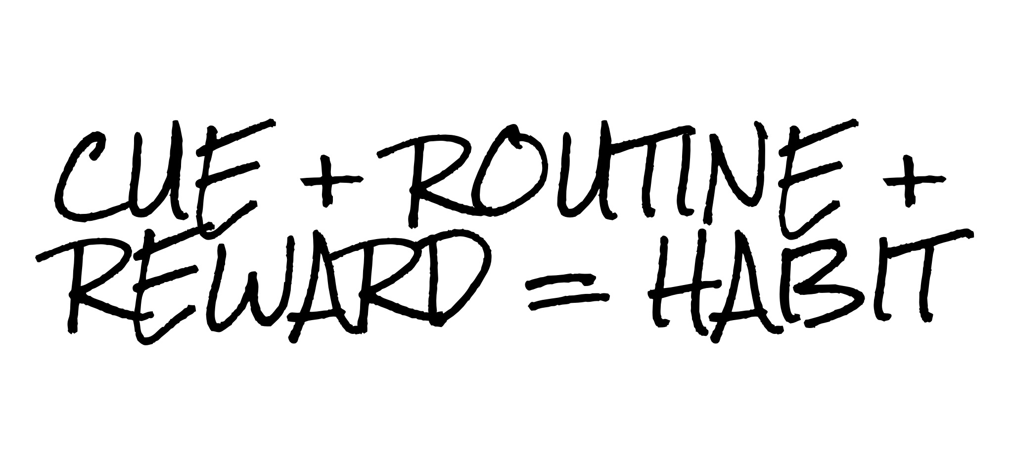 The Power of Habit: 3 Steps to Starting (or Stopping