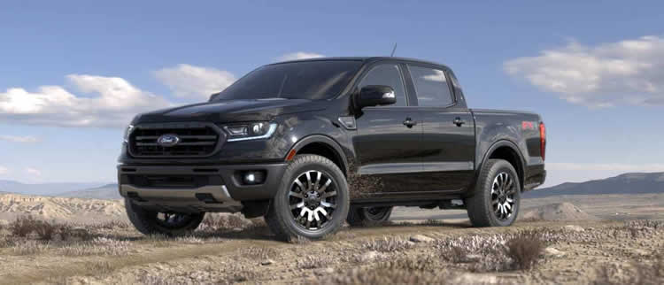 2019 ford ranger absolute black