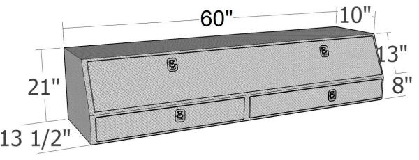 Brute Contractor Topside Boxes with Drawers