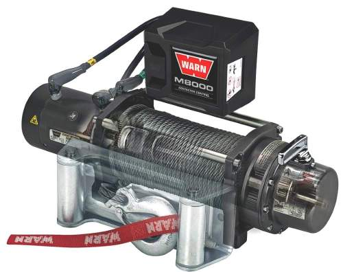 small resolution of warn m8000 winch side view