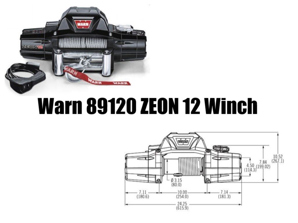 Warn 89120 ZEON 12 Winch Review on Pickwinch.com