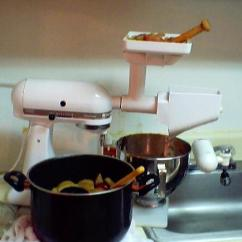 Kitchen Aide Mixer Attachments Hood Designs Apple Sauce: Making And Bottling Your Own Homemade ...