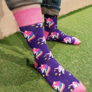little pony unicorn socks