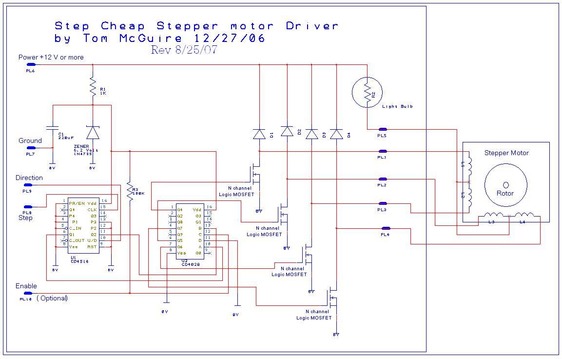 unipolar cnc wiring diagram
