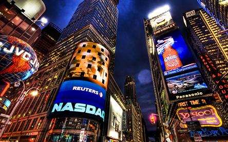 New York greenscreen background