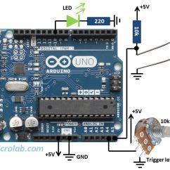 Light Sensitive Switch Circuit Diagram Human Eye Unlabeled Photoresistor Sensor Arduino