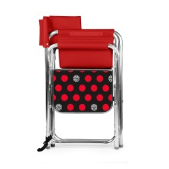 Minnie Mouse Folding Chair Barrel Lounge Sports By Picnic Time Red