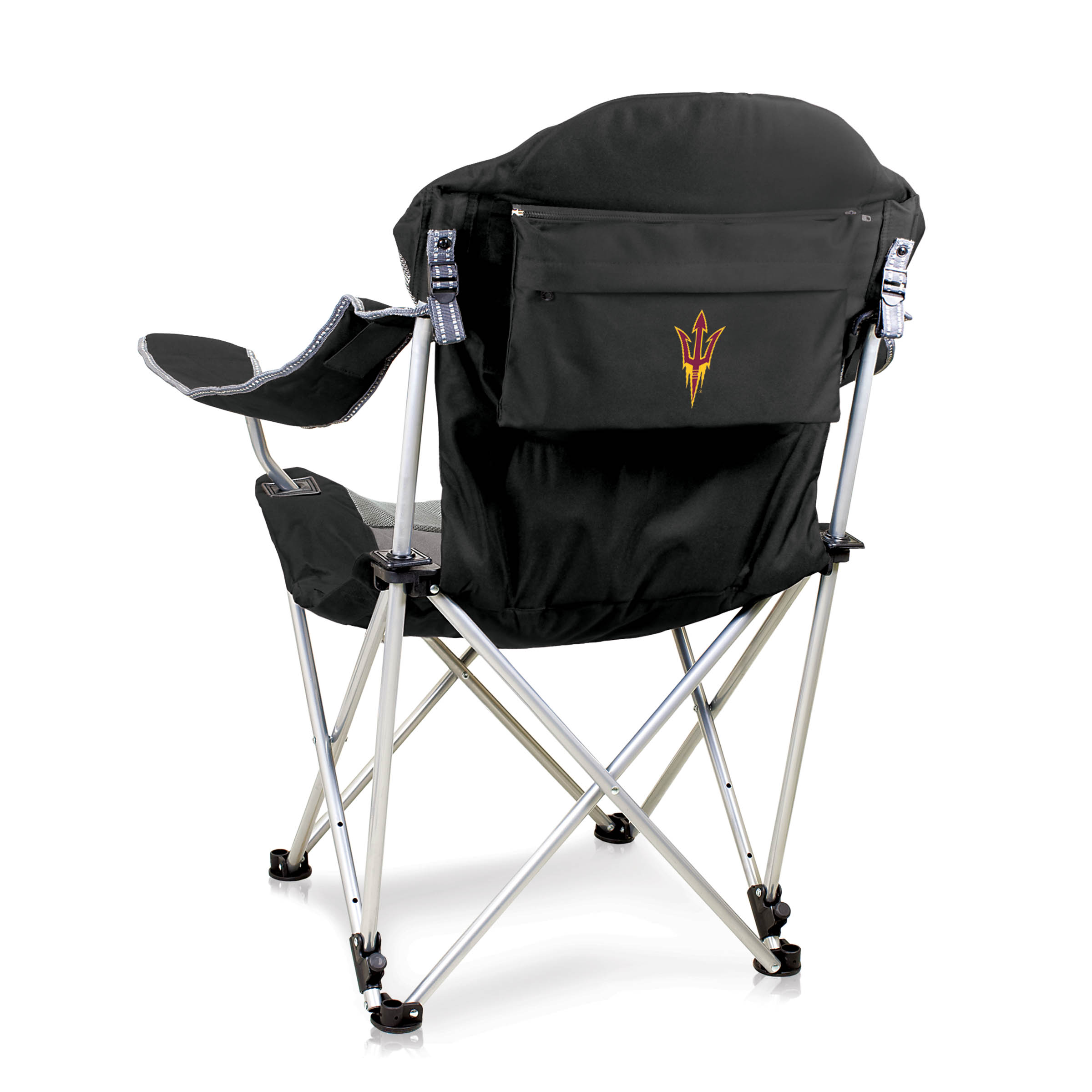 baby camp chair crown royal reclining black arizona state university sun devils digital print picnic time family of brands