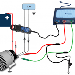 Ford Focus Mk2 Wiring Diagram 2n Alternator Smart Charge Typical Connection