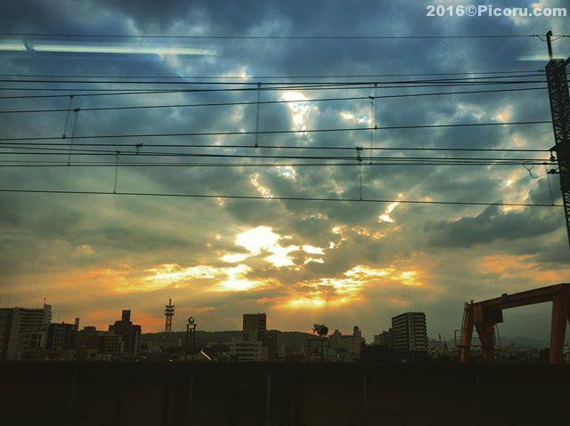 疲れた〜帰ります!もう新幹線に乗ってます。