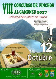 cartel Concurso Pincho al Gamoneu 2017