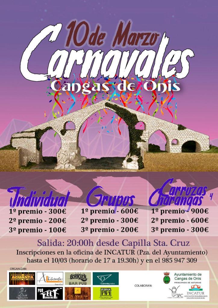 Cartel Carnaval de Cangas de Onís
