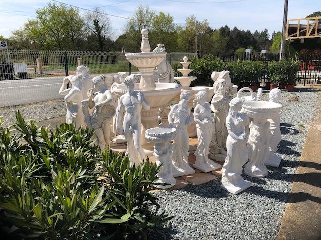 vente de statues pour mettre en valeur