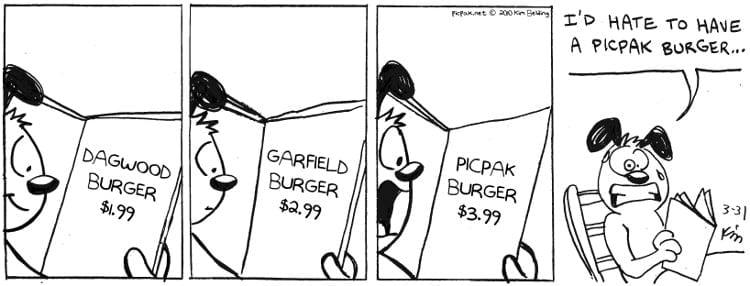 Picpak Burger