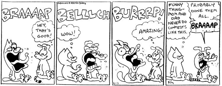Burping Contest